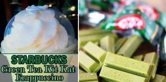Green Tea Kit Kat Frappuccino | Starbucks Secret Menu