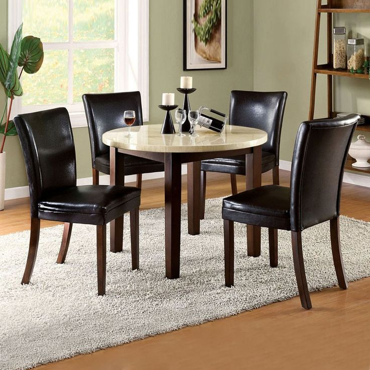 The 40 best images about Round Dining Room Table Sets on Pinterest