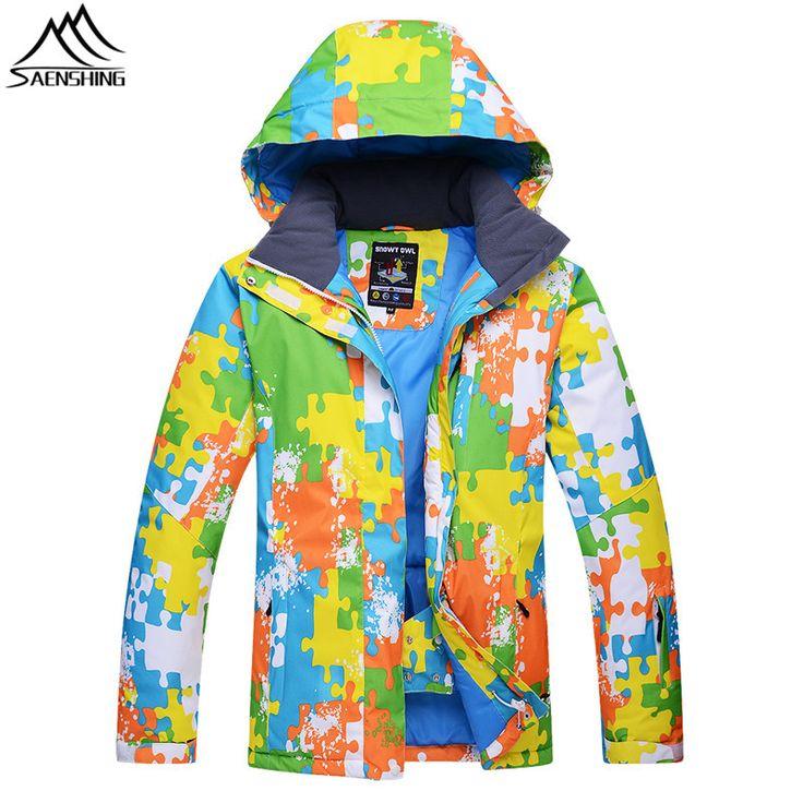 Saenshing winter snow jacket male super warm breathable ski jacket men winter waterproof skiing snowboard coat ski clothing  #Affiliate