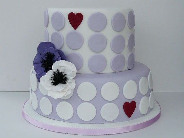 A cake after my own purple heart