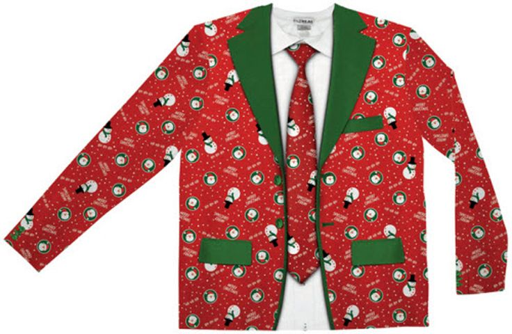 Cool Costumes Ugly Christmas Suit Tie just added...