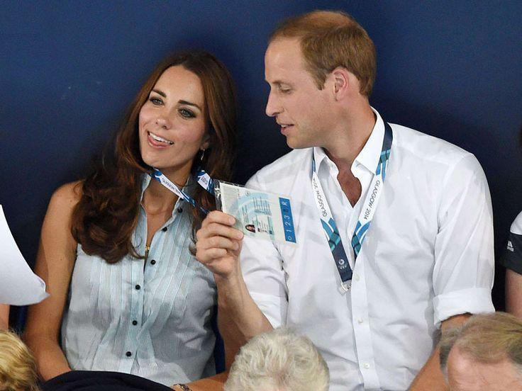 William et Kate s'éclatent aux Jeux du Commonwealth