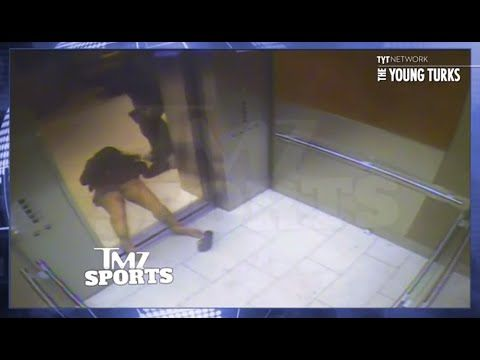 Ray Rice beats his wife unconscious in an elevator. Meanwhile the GM of the NFL Roger Goodell tries to cover for him.