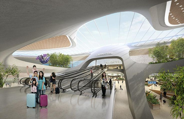 Taiwan Taoyuan International Airport Terminal 3 by UNStudio