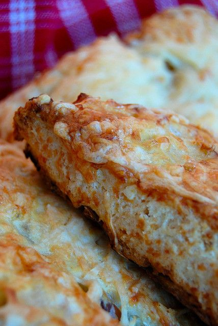 apple cheddar scones by RusticKitchen, via Flickr