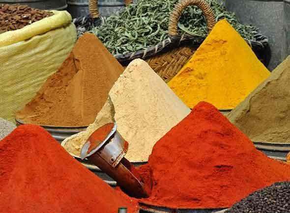 marokkolaiset mausteet