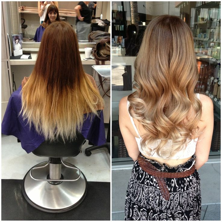 Before And After Of A Color Correction  Balayage By Briza  Pinterest  Col