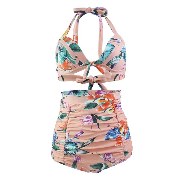 Pregnant Women Swimsuit Summer Pregnancy Maternity Plus Size Swimwear Bikini Sets Women Two-piece Swimwear Holiday Beach Clothes – Dress up :)