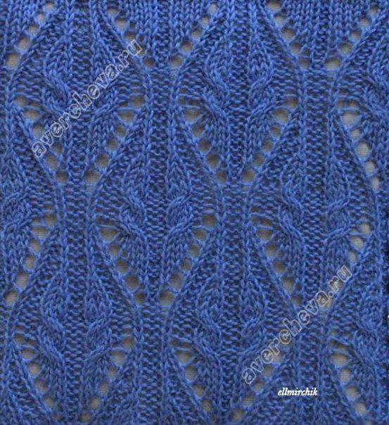 Схемы вязания спицами и крючком | ВКонтакте