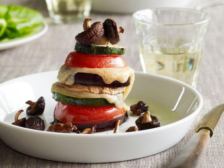 Groentetorentjes met paddenstoelen - Libelle Lekker