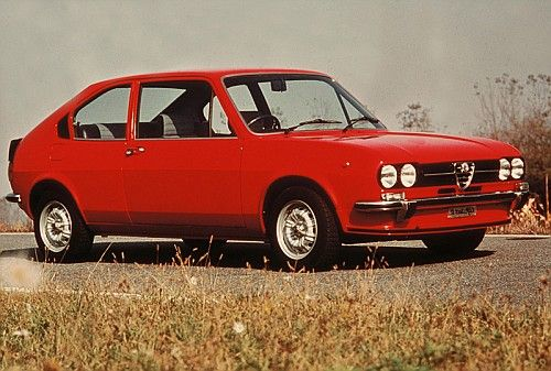 An Alfa Sud. My best friend's mom had one. Wow, it was noisy and always in the shop getting fixed.
