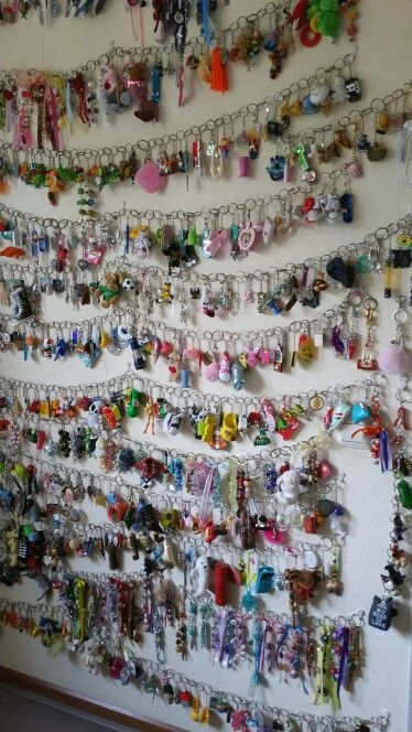 Keychain Collection In 2019 Displaying Collections Souvenir Display Collection