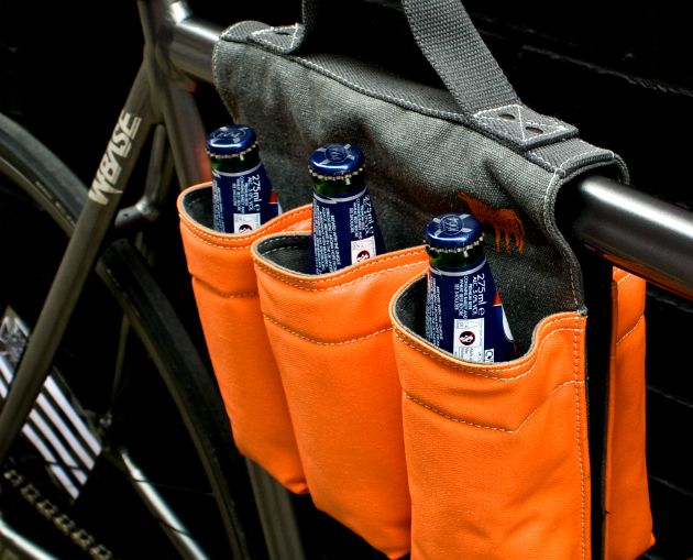 Six Pack Bicycle Carrier http://gearmoose.com/six-pack-bicycle-carrier/