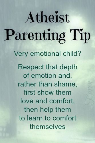 """Atheist Parenting Tips by Karen, YES, they COULD also be called simply """"Parenting Tips""""."""