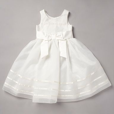 £48-57 - Debenhams - Pearce Fionda - Girl's ivory appliqued flower dress  Mixed reviews on website.  Am suspicious about the bodice... doubt it's cut very well for kids, but would have to try it on them to be sure.
