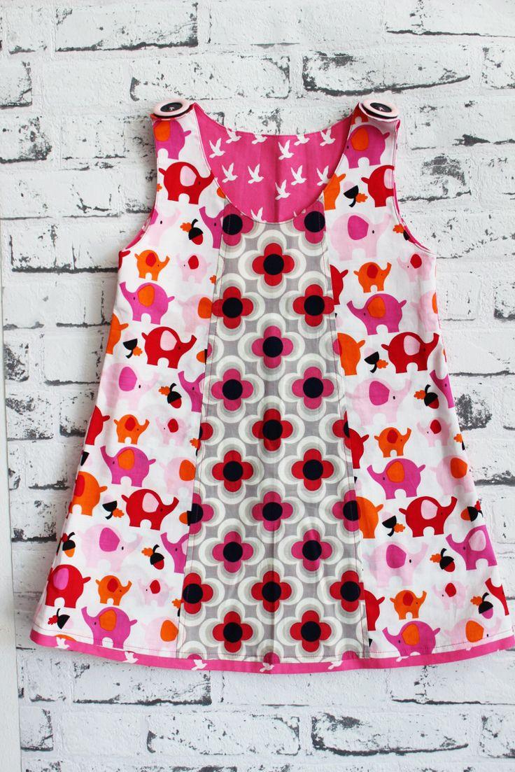Pech&Schwefel: Selbermacher-Kleidchen - kostenlose Nähanleitung + Schnittmuster (80 bis 122)