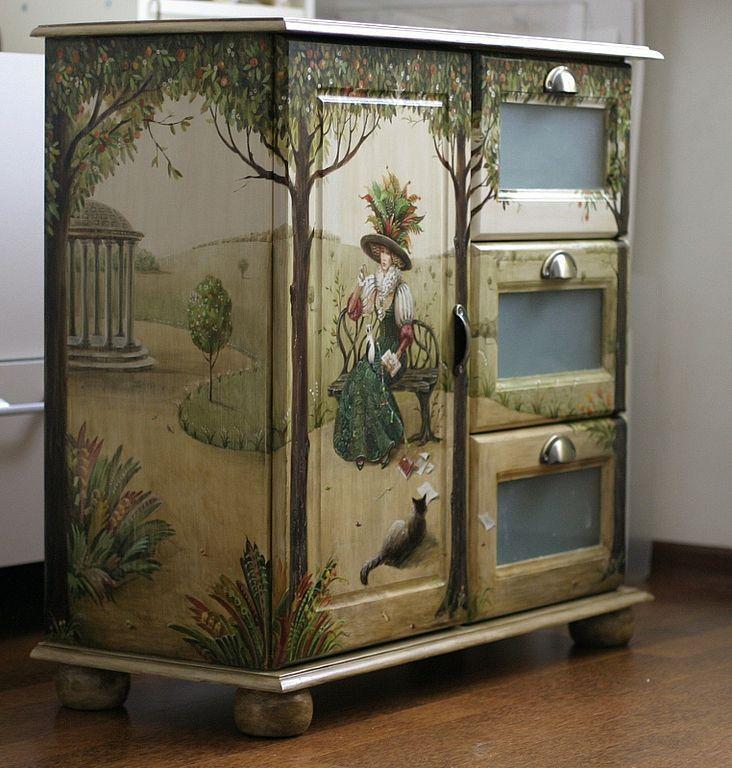 рисунки на деревянной мебели фото отрицательную