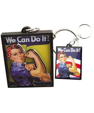 Rosie The Riveter Keychain #museumofflight