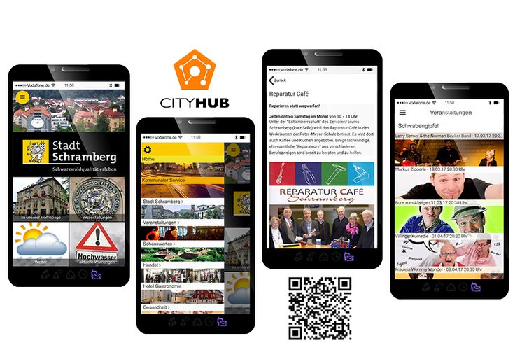 City (City) Municipality App  Get City (City) Service, News, #Business & Club infos communal with #CityHub app!  ☎️ at 0 7422 2454 - 670 ✔ Visit us: http://chs-softfolio.de/