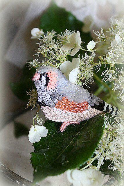 Irena Gasha детская коллекция - Брошь - Пестрый попугайчик