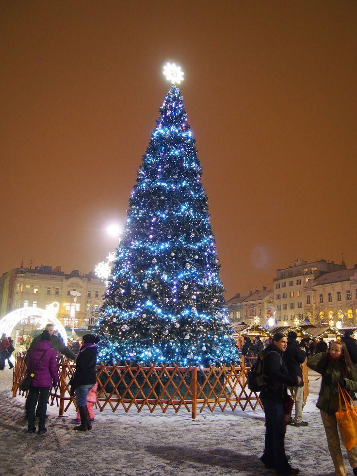 Vánoční trhy v Ostravě!!! 2016 (ano, je umělý :-)