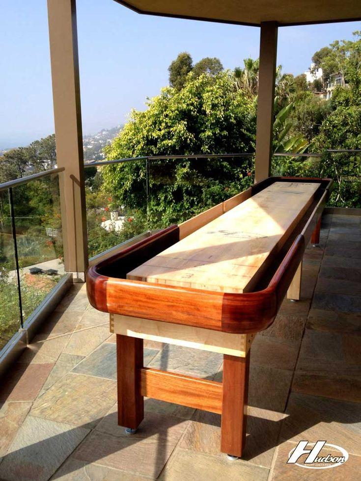 Read this Outdoor Shuffleboard Buying Guide to find out what to look for in a quality outdoor shuffleboard deck!