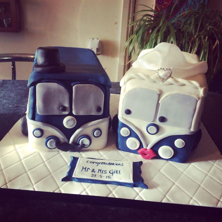 Volkswagen CamperVan Wedding Cake x