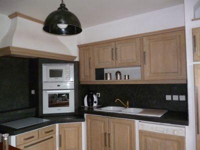 1000 id es sur le th me cuisine en ch ne sur pinterest - Repeindre une cuisine en bois massif ...