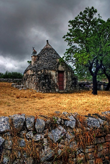 Trulli House, Italy, by Debbie Pinard