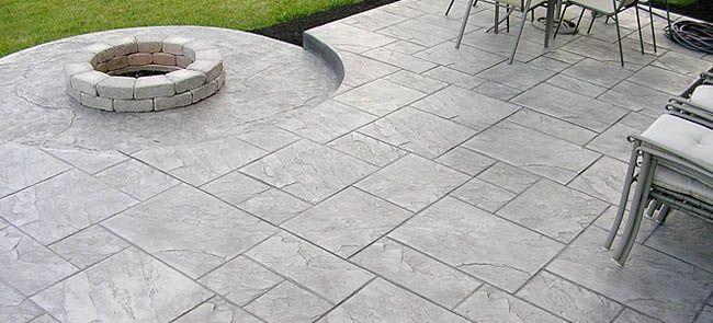 Stamped Concrete Patio | Stamped Concrete Patio Configurations in Colorado | Elliott Spour ...