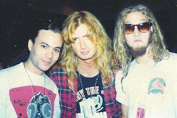 Mike Starr Dave Mustane Layne Staley Layne's expression hehe. lol
