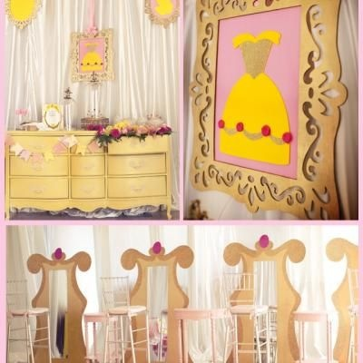 Princess Belle Birthday Party