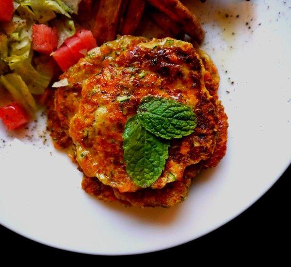 Zucchini/carrot-burger recipe in blog!