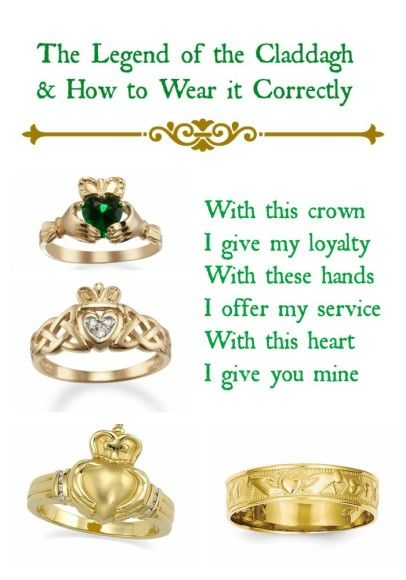 How to Choose a Claddagh Ring and What it Means                                                                                                                                                                                 More