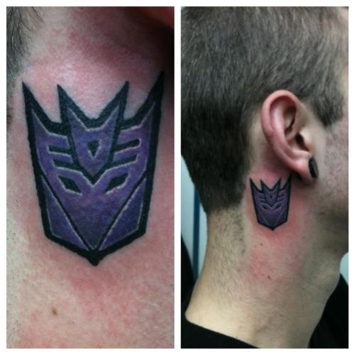 Transformers Tattoos Designs Ideas And Meaning: :Decepticon Tattoo!!! Done By Alex S