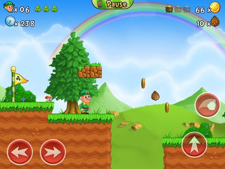 Lep's World 2 App by nerByte GmbH. Retro Game Apps.