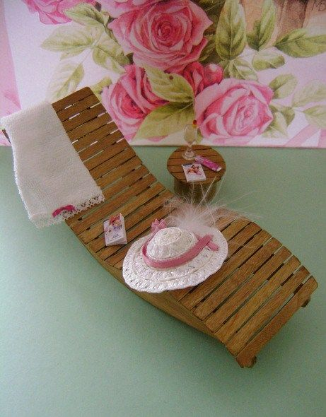 miniature lounge chair how to