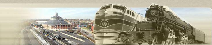B & O ~ Choo Choo Blueville (baltimore and ohio railroad museum)