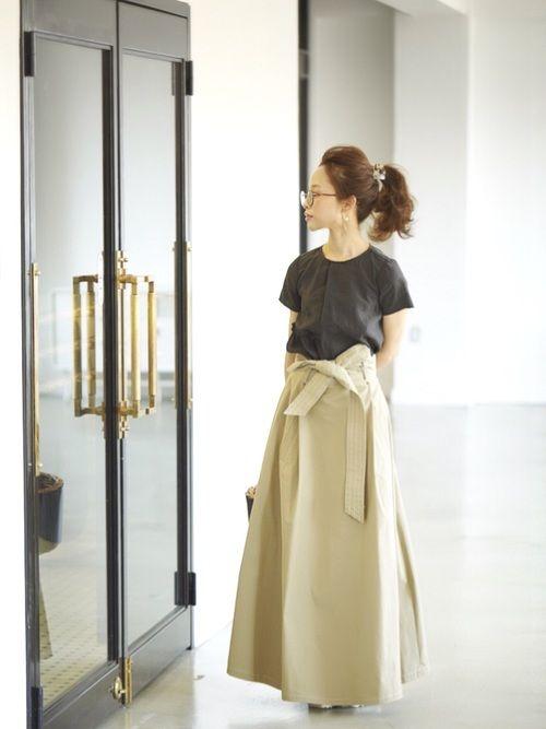 田中亜希子|ZARAのTシャツ・カットソーを使ったコーディネート - WEAR