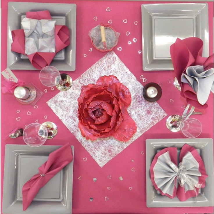90 best images about table decorations for valentine on - Table saint valentin ...