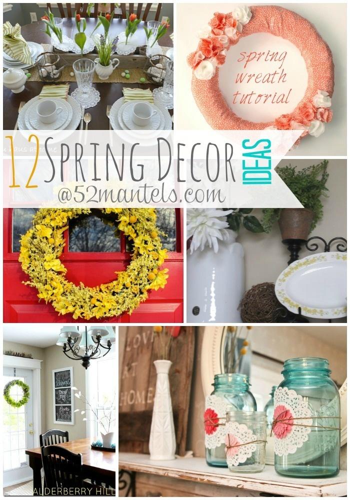 12 Fresh Spring Decor Ideas!