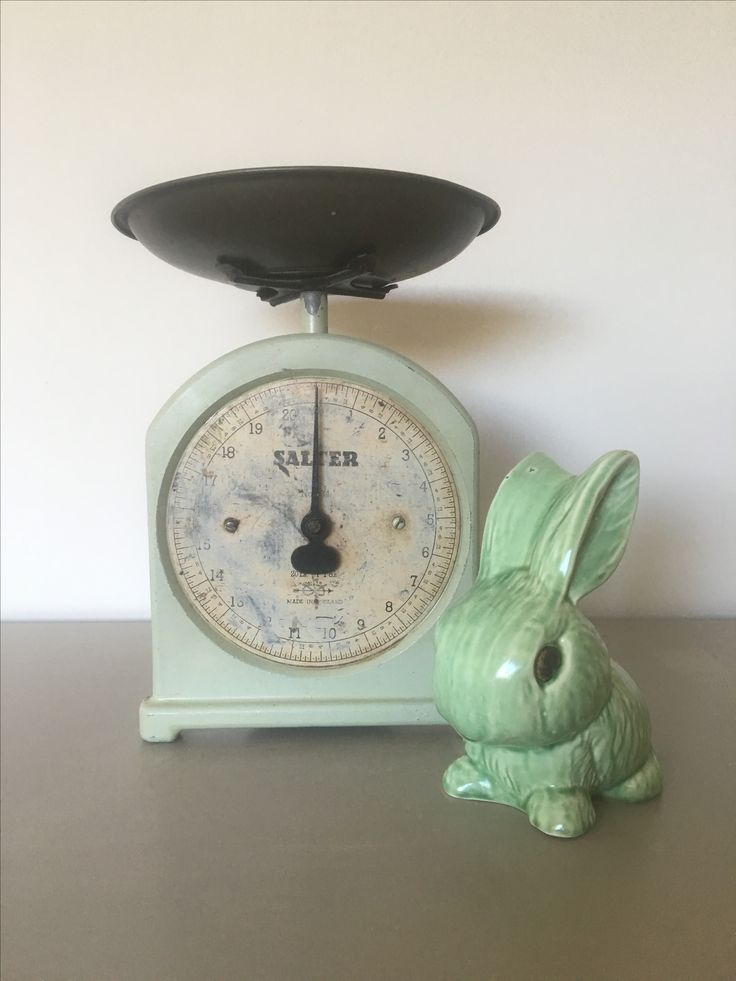 vintage salter scales and a unique Sylvac rabbit.  https://www.etsy.com/uk/shop/relovedbyyousea