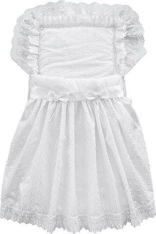 Подробнее о товаре Little People, Крестильный набор для девочки 4 предмета (белый)