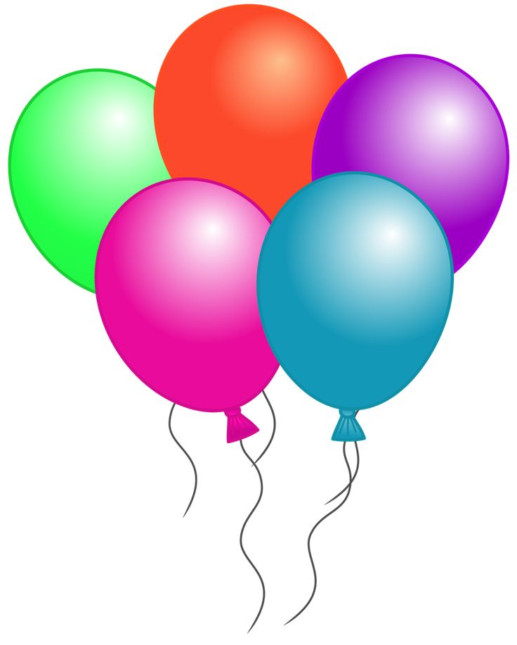 Birthday Balloons Clipart Free Balloon Clip Art For Classroom Lessons Of Presentation