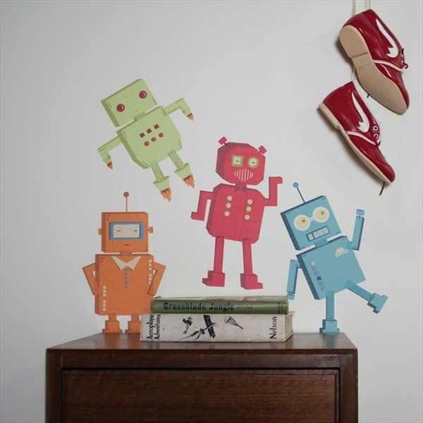 Small Robot Decals