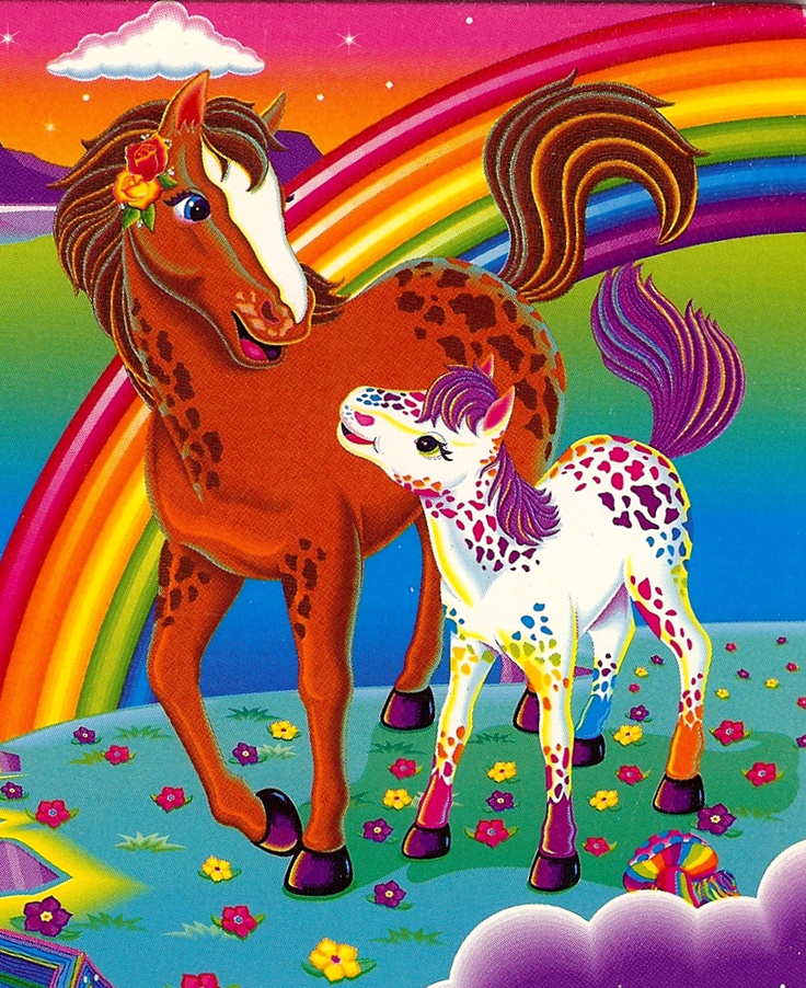 Rainbowchaser and Lollipop by Lisa Frank