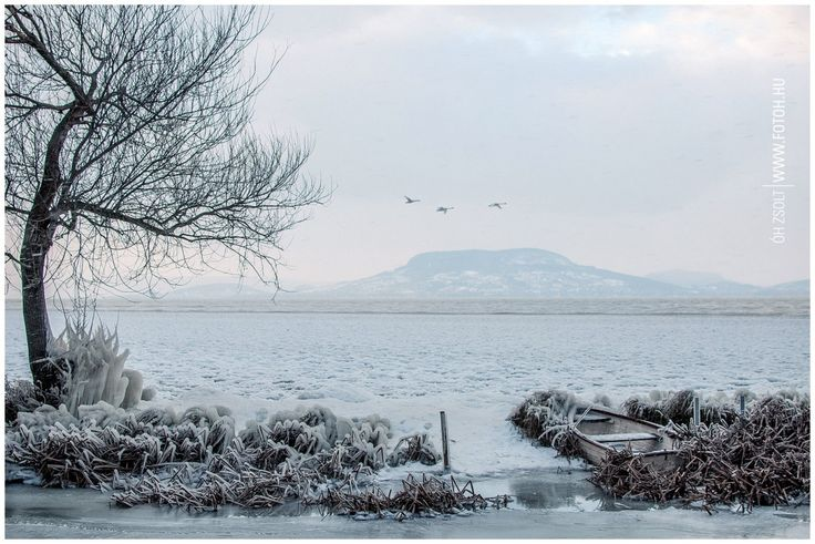 Lake Balaton,photography,ice,snow,winter