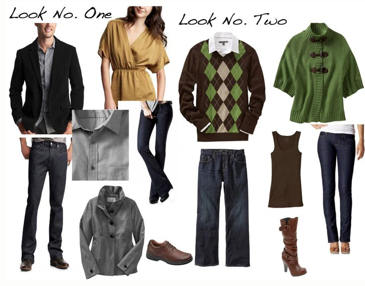 what to wear: fall family portraits