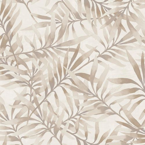 Frodigt bladverk i beige och koppar från kollektionen Arcadia AC-18562. Klicka för att se fler inspirerande tapeter för ditt hem!