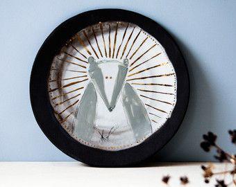 Cuori di amore arte della parete in ceramica moderna. Regalo